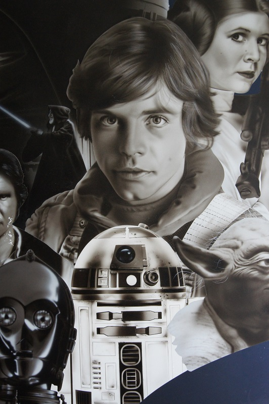 Le dessin de Luke Skywalker - Star Wars