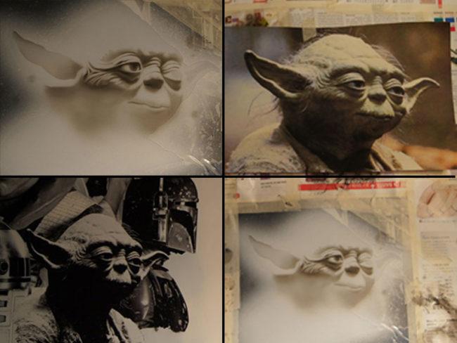 Dessin de Maître Yoda - Star Wars